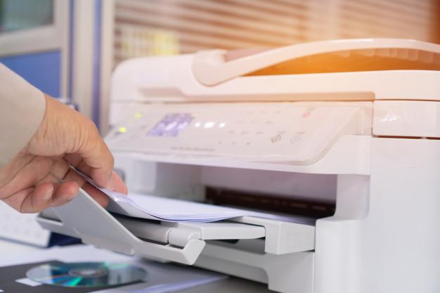 O que fazer quando a impressora trava?